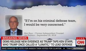"CNN's Erin Burnett: White House impeachment legal team is ""straight from the studios of Trump's favorite TV channel"""