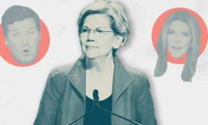 How a CNBC headline describing Elizabeth Warren's plan to fight disinformation snowballed into a right-wing smear