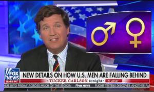 Tucker Carlson anchors his February 6th show