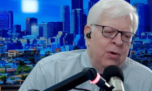 Dennis Prager you complains that you can't say the N-word