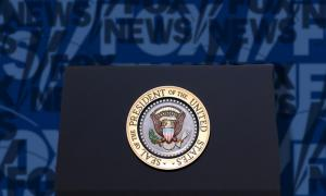Fox News and White House Podium