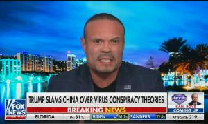 """Fox's Dan Bongino says you can't be racist about China because """"China is not a race"""""""