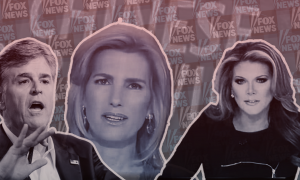 Sean Hannity, Laura Ingraham, and Trish Regan