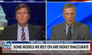 Fox's Brit Hume claims the number of coronavirus deaths are being inflated
