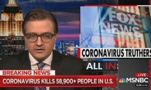 Chris Hayes points out Fox News hypocrisy