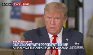 President Trump lies about coronavirus advice he received