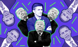 Trump, Flynn and Obama