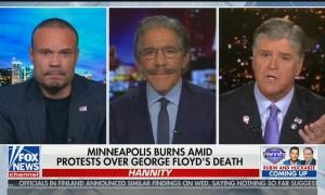 "Dan Bongino says he doesn't want to ""inject racism"" into Floyd murder"
