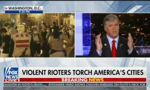 "Geraldo Rivera calls protests the ""rape of America"""