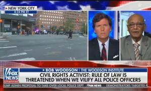 Tucker Carlson guest blames guilty rich black people for destroying the country