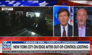 Tucker Carlson and guest Bernard Kerik