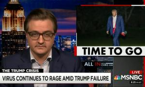 Chris Hayes calls for Donald Trump's resignation in blistering monologue on COVID failure