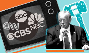 CNN, corporate broadcast, and Trump