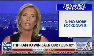"Laura Ingraham: ""No more lockdowns. Viruses are a fact of life"""