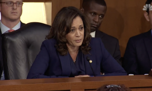 Kamala Harris at Kavanaugh hearing