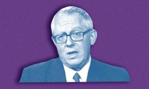 Michael Caputo on purple background