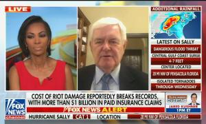Fox News anchor apologizes for interrupting Newt Gingrich's anti-Semitic conspiracy theory