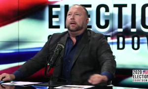 Alex Jones pushes conspiracy theories about Ruth Bader Ginsburg's death