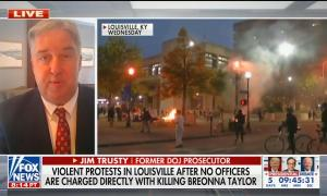 James Trusty discusses protests
