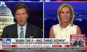 Tucker Carlson and Laura Ingraham