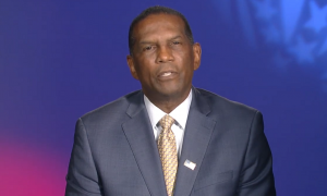 An image of right-wing commentator and House candidate Burgess Owens