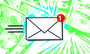 An image of right-wing email grifters