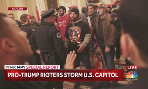 NBC News: Pro-Trump rioters storm the Capitol