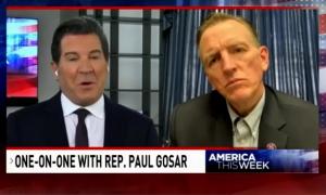 Sinclair's Eric Bolling interviewing Rep. Paul Gosar (R-AZ)