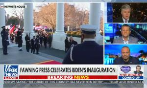 chyron: Biden calls for unity but his party's recent remarks tell a different story