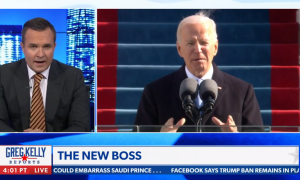 Newsmax undermines the Biden administration on day one