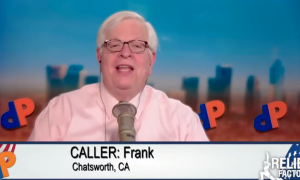 Dennis Prager declares QAnon an enemy manufactured by the left