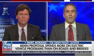 Tucker Carlson makes a compelling case against Biden's infrastructure plan for climate deniers and white supremacists