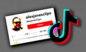 TikTok Alex Jones