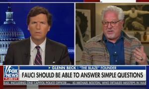 Tucker Carlson hosts Glenn Beck to question COVID vaccines