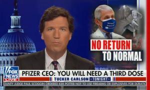 Tucker Carlson hosts Tucker Carlson Tonight