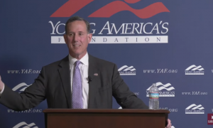 "CNN's Rick Santorum: ""There isn't much Native American culture in American culture"""