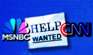 MSNBC CNN help wanted sign