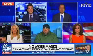 Fox News says new CDC recommendations on mask wearing are just a distraction