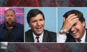 Alex Jones claims his conversations with Tucker Carlson are monitored by the government