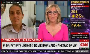 CNN discusses vaccine misinformation on Fox