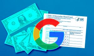google vaccine card profit