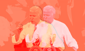 Joe Biden giving a speech