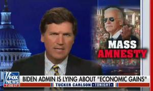 """Tucker Carlson: """"Illegal immigrants have a very specific functional purpose. They are a tool to change the country forever and ensure a permanent Democratic control over our government"""""""