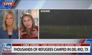 """Fox's Lara Logan calls migrants """"a virus bomb or a virus attack in your own country"""""""