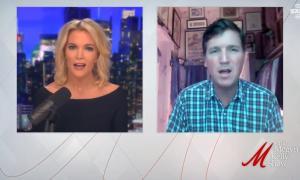 Megyn Kelly interviews Tucker Carlson on The Megyn Kelly Show