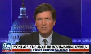 """Tucker Carlson says it's immigrants, """"not unvaccinated Americans who are clogging"""" emergency rooms"""