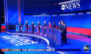 Third democratic presidential debate