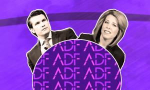 ADF attorney Kristen Waggoner and Fox host Pete Hegseth