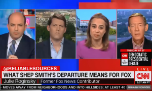 Stelter interviews three former Fox employees about networks' news division
