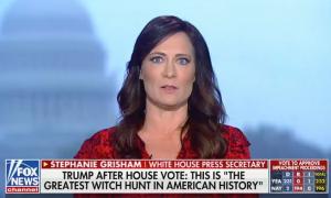 Grisham Fox News impeachment vote